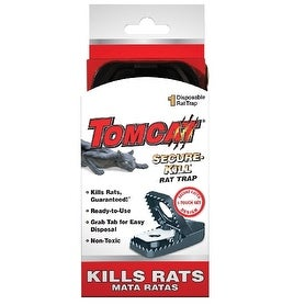 Tomcat 0360810 Secure Kill Rat Trap