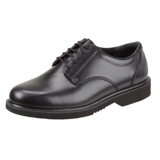 Thorogood Work Shoes Mens Uniform Academy Oxford Black 834-6041