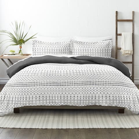 Becky Cameron Etched Gate 3 Piece Reversible Duvet Cover Set