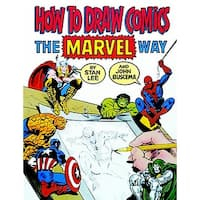 School Specialty How to Draw Comics the Marvel Way Book
