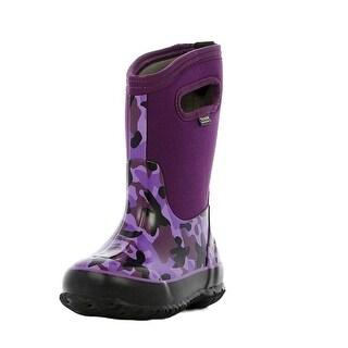 Bogs Boots Girls Kids Classic Camo Insulated Waterproof 71397A