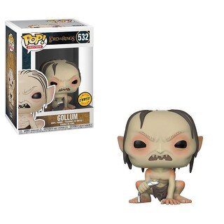 "FunKo POP! Movies Lord of the Rings Gollum 3.75"" CHASE VARIANT Vinyl Figure - multi"