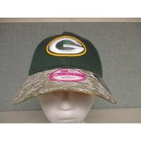 Green Bay Packers Womens Camo Salute to Service Size OSFA Cap Hat $27