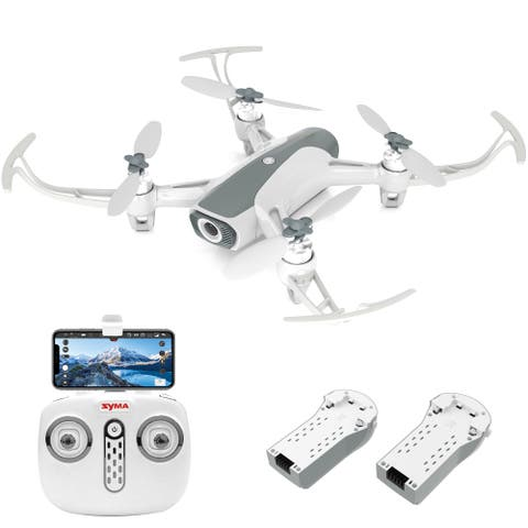 Syma W1 Pro Dual Cameras Brushless Drone 1080P camera for 5G FPV Video One Key to Return - N/A