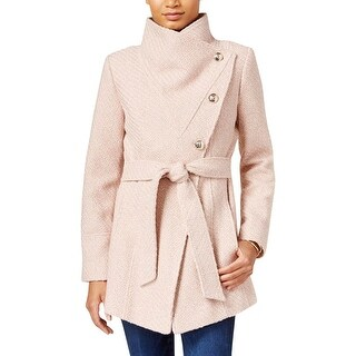 Jessica Simpson Womens Wrap Coat Belted Long Sleeve - XL