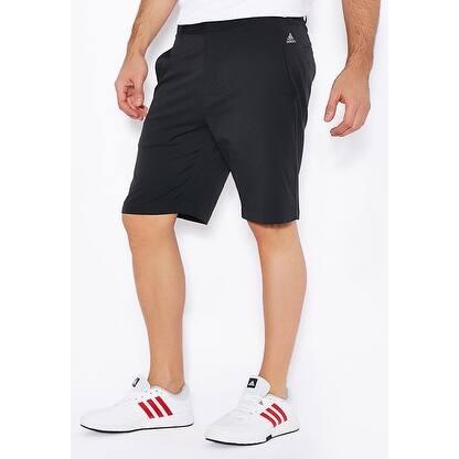ed3fa04b7 Adidas Men s Puremotion Stretch 3-Stripe Black Vista Grey Shorts B84289