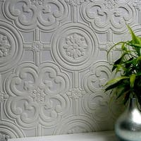 Brewster 437-RD80029 Egon Paintable Textured Vinyl Wallpaper - N/A