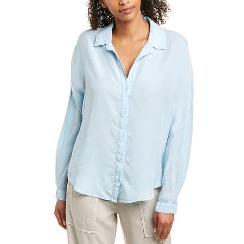 Bella Dahl Half Hidden Placket Button Down Shirt
