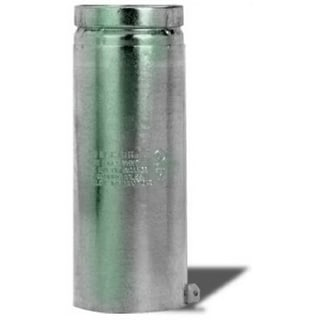 """Selkirk 104082 Adjustable Pipe Round Type B Gas Vent, 4"""" x 12"""""""