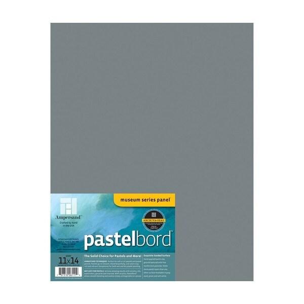 "Ampersand Art - Pastelbord - 11"" x 14"" - Gray"