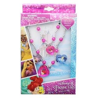 Disney Princess 4-Piece Jewelry Set - Multi