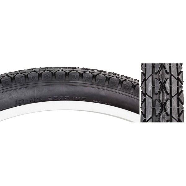 Two Duro 26x2.125 Beach Cruiser Bicycle Tires /& 2 tubes Brick Pattern Black 2