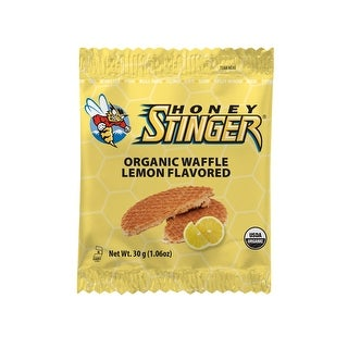 Honey Stinger Organic Waffles (Lemon Flavored/Case of 16)