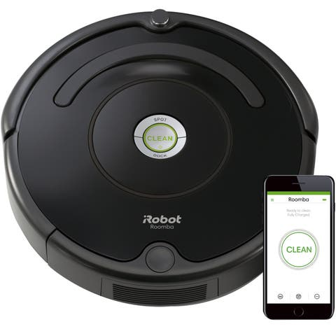 iRobot Roomba 675 Wi-Fi Connected Robotic Vacuum Cleaner