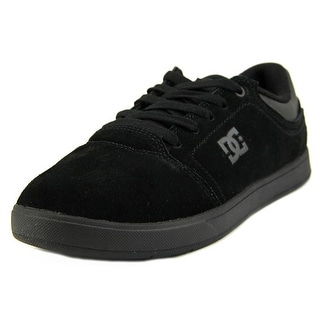 DC Shoes Crisis Youth Round Toe Leather Skate Shoe