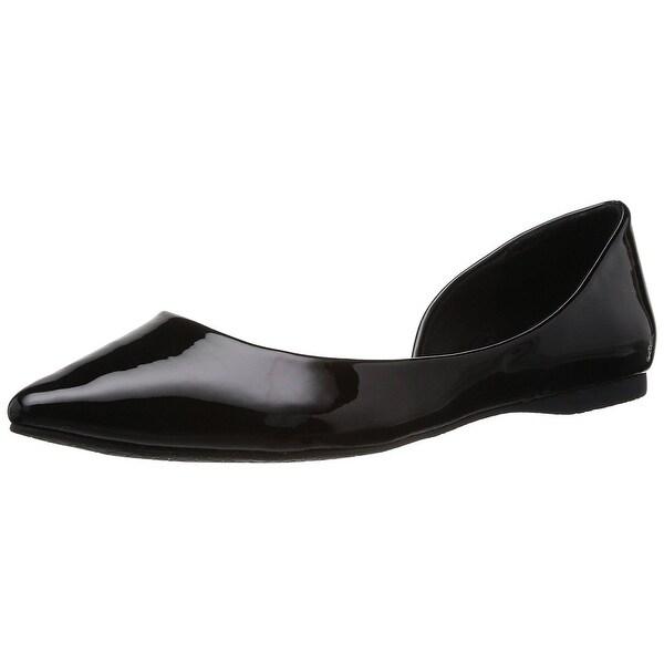Steve Madden Womens Elusion Pointed Toe Slide Flats