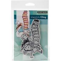 """Tall Cake - Penny Black Cling Stamp 5""""X7"""""""