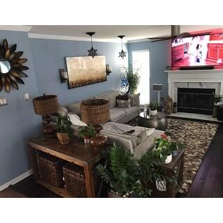 Mohawk Home Chaos Theory Abstract Shag Area Rug
