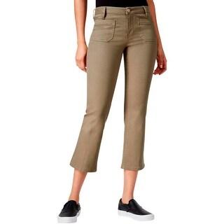 Sanctuary Womens Bootcut Jeans White Denim Classic Rise