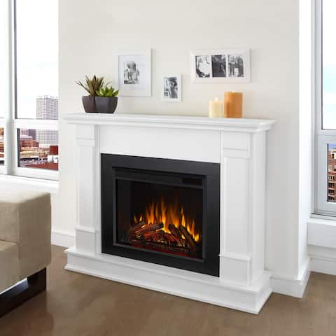 Silverton Electric Fireplace White