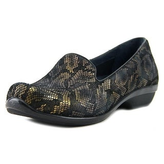 Dansko Olivia Women Round Toe Patent Leather Bronze Loafer