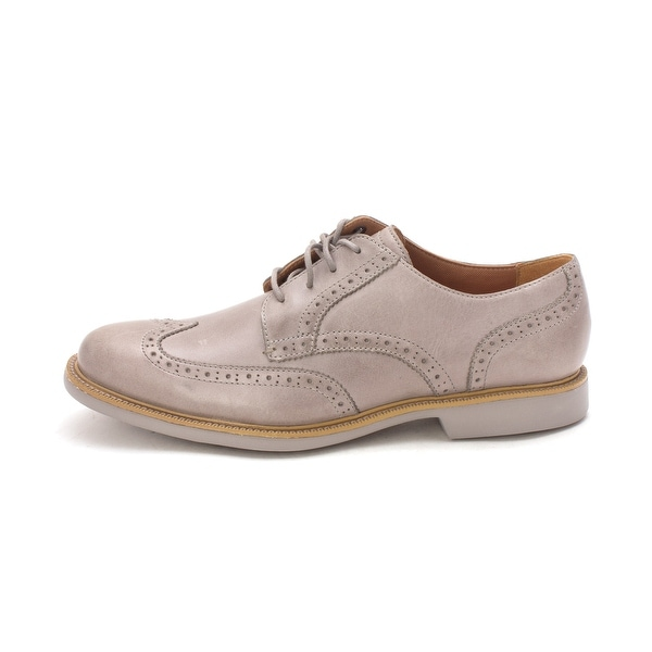 Cole Haan Mens Great Jones Wing Lace Up Dress Oxfords - 8.5