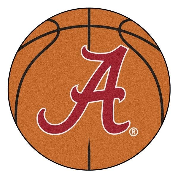 Shop University Of Alabama Basketball Area Rug Free Shipping On