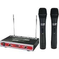 Jammin Pro Dual VHF Wireless Microphone System