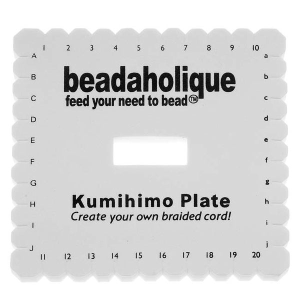 Lightweight Kumihimo Square Plate For Japanese Flat Braiding