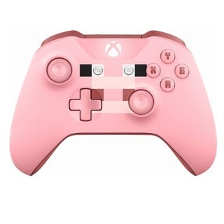 Microsoft Wl3-00052 Xbox Wireless Controller - Minecraft Pig - Bluetooth - Usb - Pink