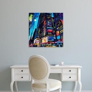 Easy Art Prints James Grey's 'City Night' Premium Canvas Art