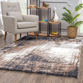Link to Rug Branch Retro Shag Modern Area Rug, Ivory Similar Items in Transitional Rugs