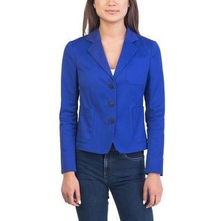 Prada Women's Cotton Jacket Blue