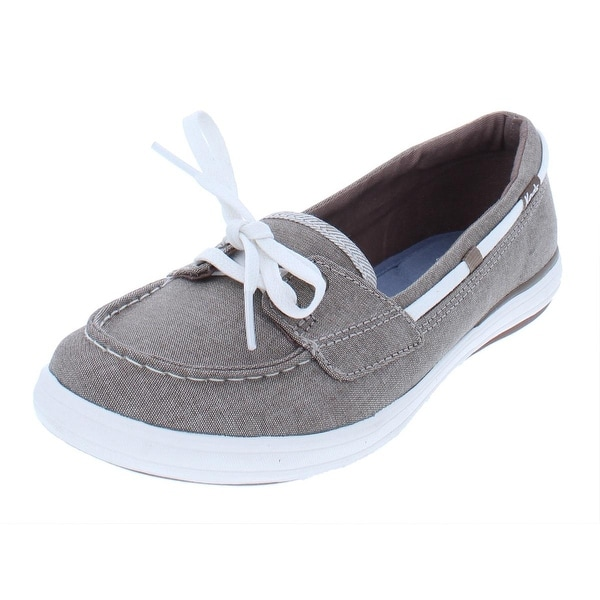 Keds Womens Glimmer Boat Shoes Slip On