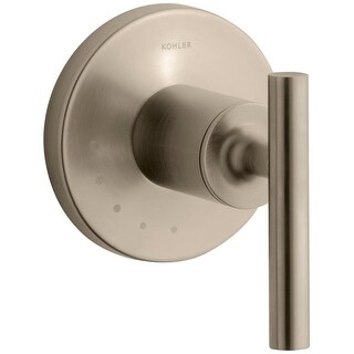 Kohler K-T14490-4 Purist Single Handle Volume Control Valve Trim with Metal Lever Handle