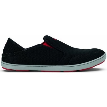 Olukai Nohea Mesh Shoe - Men's Black/Black, 10