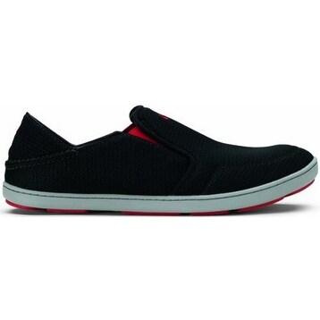 Olukai Nohea Mesh Shoe - Men's Black/Black, 10.5