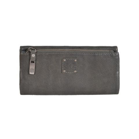 StS Ranchwear Western Wallet Womens Mesa Tri-Fold Charcoal - One Size