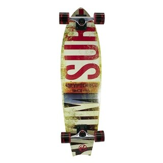 Kryptonics 34 Swallowtail Longboard Complete Skateboard Choice Graphic