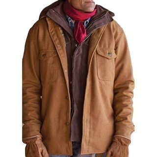 StS Ranchwear Western Jacket Mens Wool Lined Clifton Camel STS8243