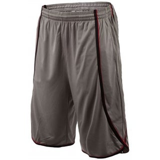 UFC Men's Moisture Wicking Side Winder Sport Shorts - Gray/Black/Red