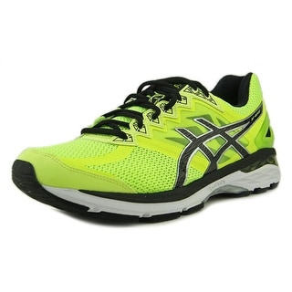 Asics GT 2000 4 Men Round Toe Synthetic Yellow Running Shoe
