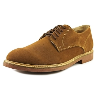 Independent Boot Company Deacon Oxford Men Round Toe Suede Tan Oxford