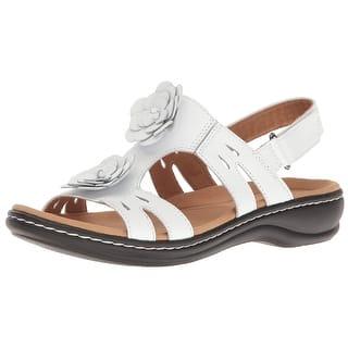 7af0c3102c3 Buy White Clarks Women s Sandals Online at Overstock