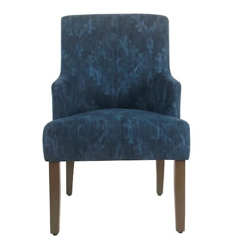HomePop Meredith Dining Chair - Patterned Indigo