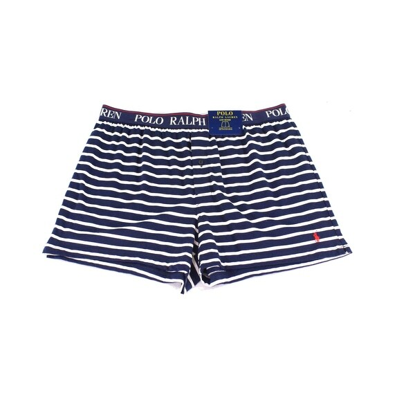 Shop Polo Ralph Lauren NEW Blue Mens Size XL Striped Boxer Brief Underwear  053 - Free Shipping On Orders Over  45 - Overstock.com - 20745254 cd3346ac512