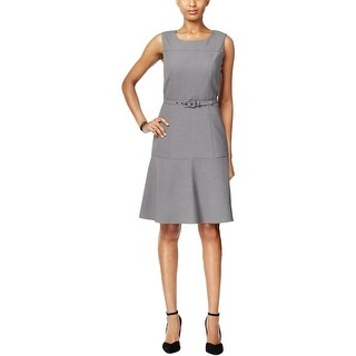 Nine West Womens Casual Dress Sleeveless Fit & Flare