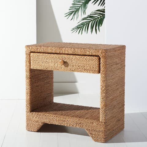 SAFAVIEH Couture Bellrose Woven Rope Nightstand