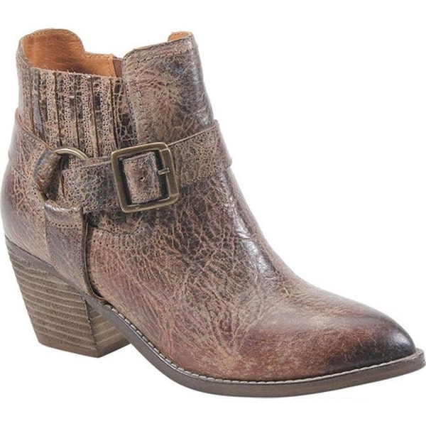b43d0950898 Shop Diba True Women s Mud Play Bootie Tan Vintage Leather - On Sale - Free  Shipping Today - Overstock - 25595527