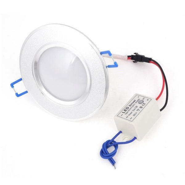 Unique Bargains AC85-265V Energy Saving White 3 Watt LED Ceiling Down Light Lamp Bulb